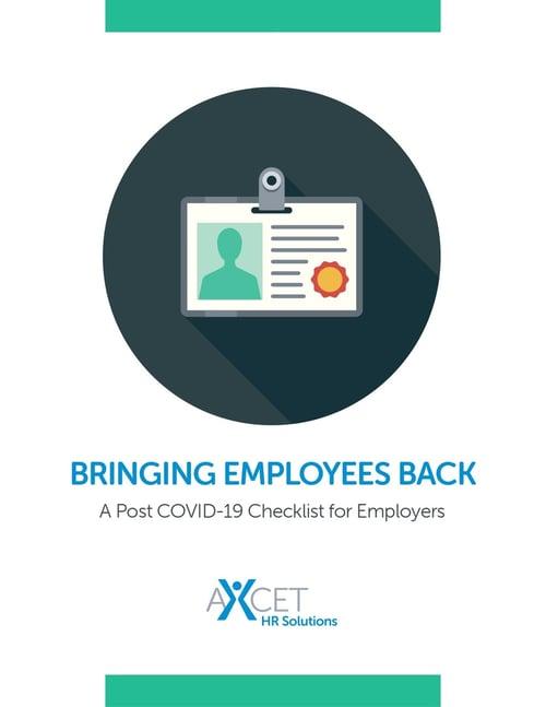 Bringing Employees Back - COVID-19