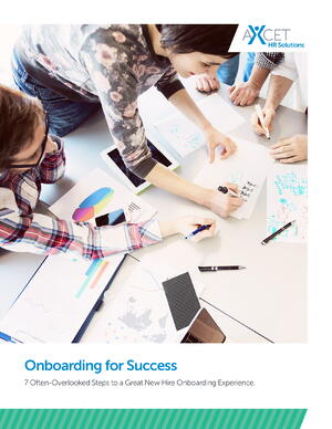Onboarding For Success - Axcet HR Solutions