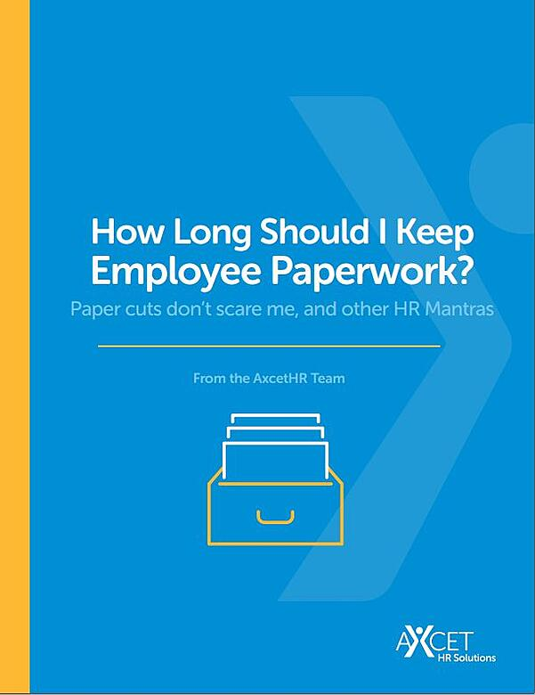 Saving Employee Paperwork