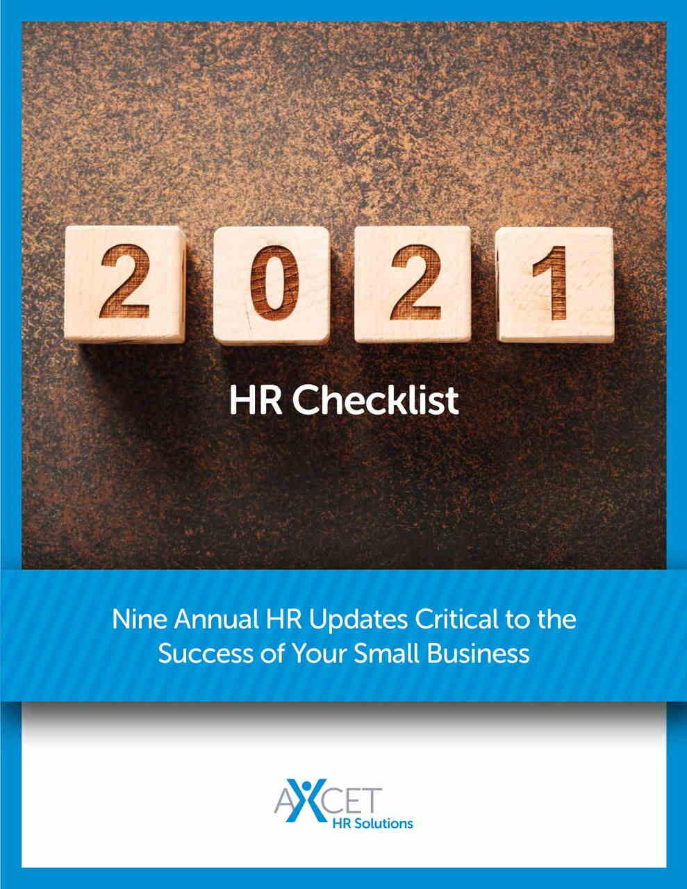 2021 HR Checklist