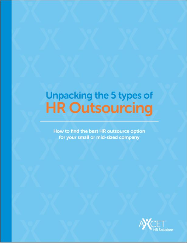 Unpacking the 5 Types of HR Outsourcing (Cover Image) Published by Axcet HR Solutions, Kansas City